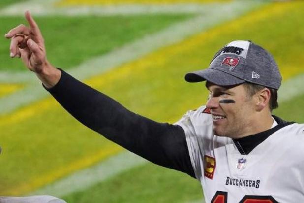 MVP Brady komt terug voor achtste Super Bowl