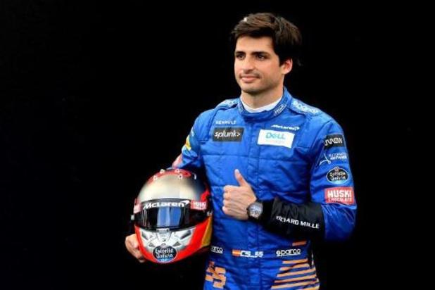 Carlos Sainz quitte McLaren pour Ferrari où il prendra la place de Sebastian Vettel