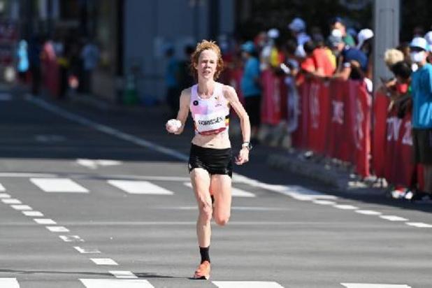 """OS 2020 - Mieke Gorissen blikt tevreden terug op 28e plaats in marathon: """"Heb mijn doel bereikt"""""""