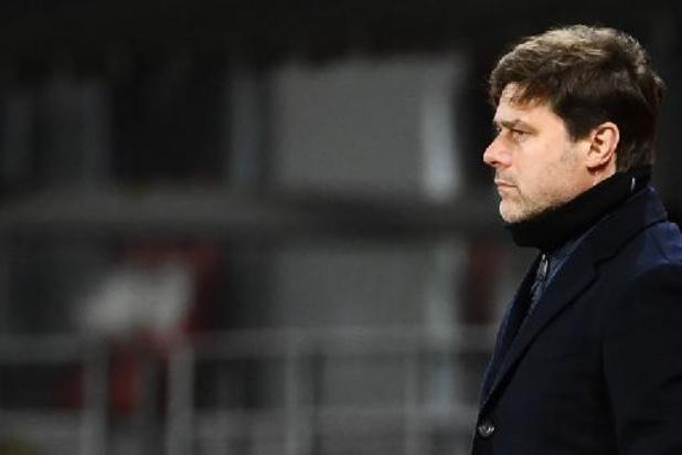 L'entraîneur du Paris Saint-Germain Mauricio Pochettino prolonge au PSG jusqu'en 2023