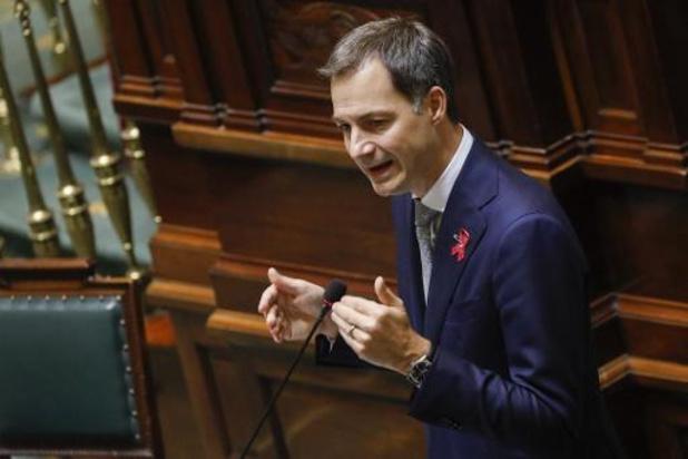 Gouvernement De Croo: Un réel budget pour la première fois depuis 2018