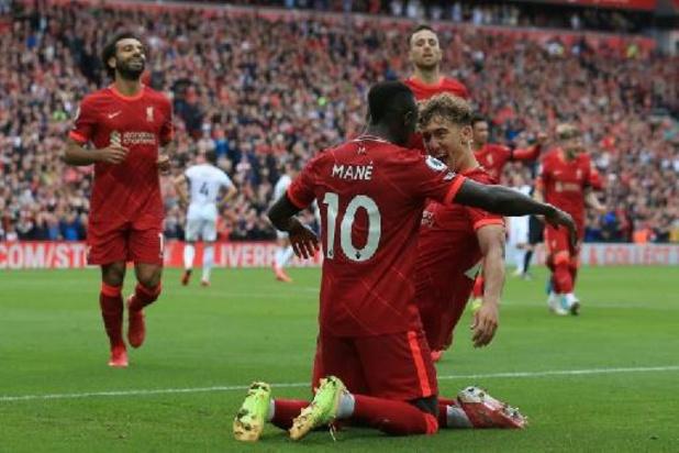 Liverpool opent met 6 op 6 na winst tegen Burnley