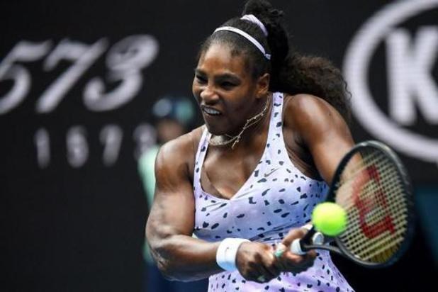 Mertens speelt mogelijke halve finale tegen Serena Williams, die Pironkova uitschakelt