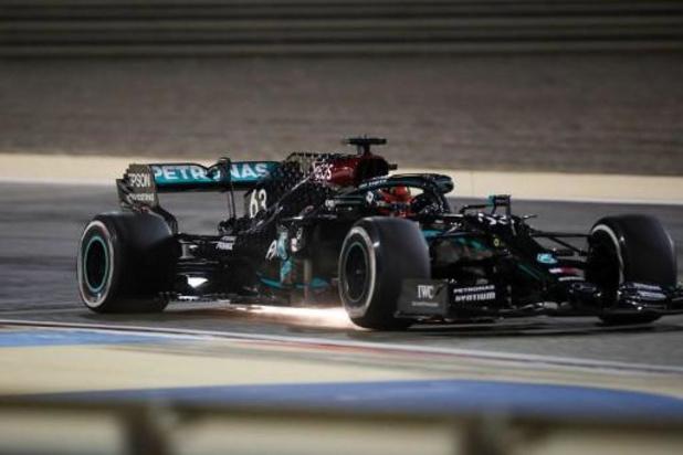 George Russell récidive lors de la deuxième séance d'essais libres au GP de Sakhir