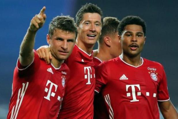 Les Belges à l'étranger - Le Bayern Munich a sorti Lyon et Jason Denayer (0-3) et affrontera le PSG en finale