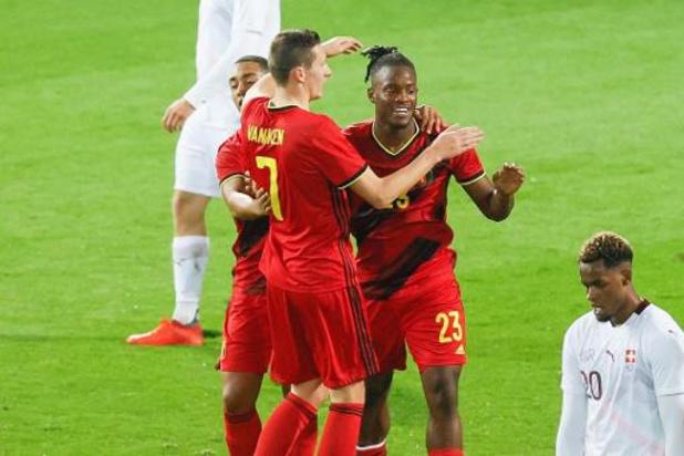 Rode Duivels - Batshuayi loodst België met twee treffers naar moeizame zege tegen Zwitserland
