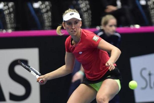 Le classement WTA inchangé après le weekend de Fed Cup