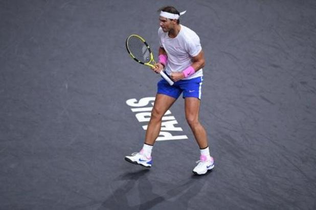 Nadal geeft forfait voor halve finale tegen Shapovalov