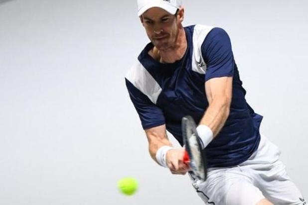 Coupe Davis : Andy Murray peine mais la Grande-Bretagne s'impose 2-1 contre les Pays-Bas