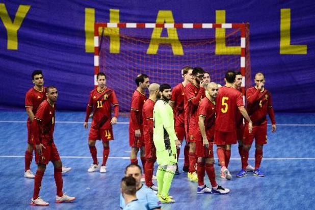 Qualification Euro 2022 de futsal: la Belgique reçoit l'Italie puis se rend en Finlande