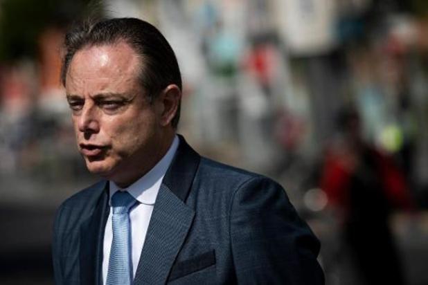 La communication de Bart De Wever sur l'incident du Meir pointée dans un rapport européen