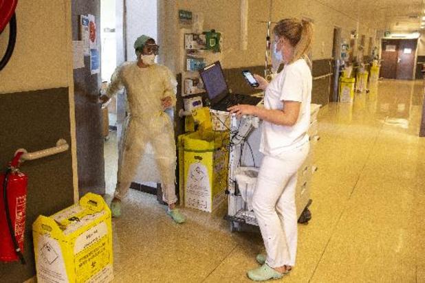 Coronavirus - Le nombre de patients hospitalisés pour cause d'infection au Covid passe sous les 800