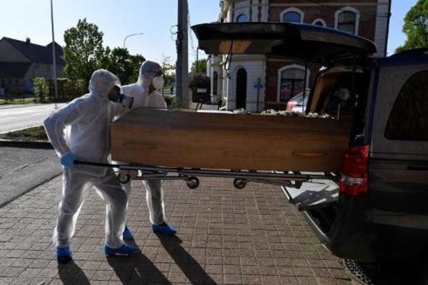 Sinds midden maart ruim 6.500 overlijdens meer dan verwacht in België