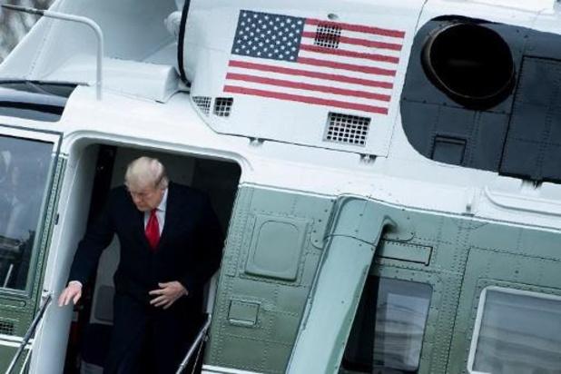 """Trump: """"Aantal infecties en sterfgevallen overdreven"""""""