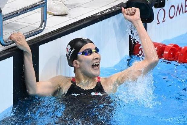JO 2020 - Natation: la Japonaise Ohashi remporte le 200 m quatre nages
