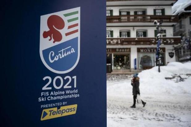 Cortina accueille lundi les Mondiaux du renouveau, sept Belges au départ