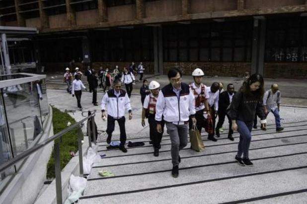 Bezetting van polytechnische universiteit Hongkong is voorbij