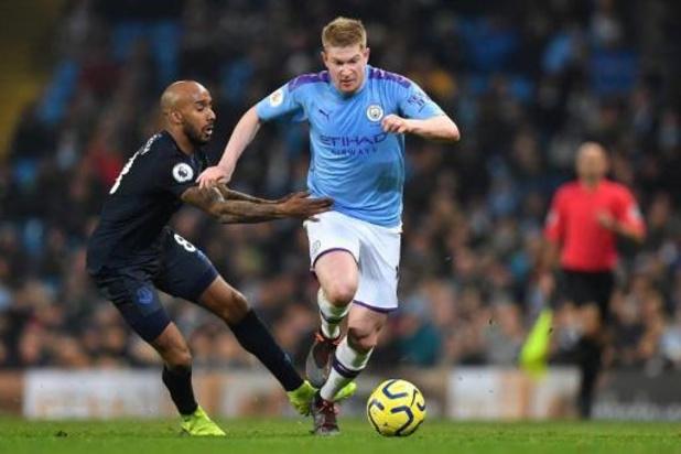 Les Belges à l'étranger - Sans briller, Manchester City bat Everton grâce à un doublé de Gabriel Jesus