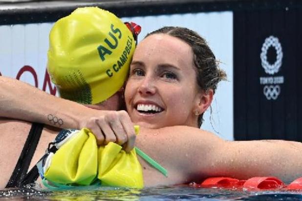 Jo 2020 - L'Australienne Emma McKeon championne olympique du 100 m nage libre