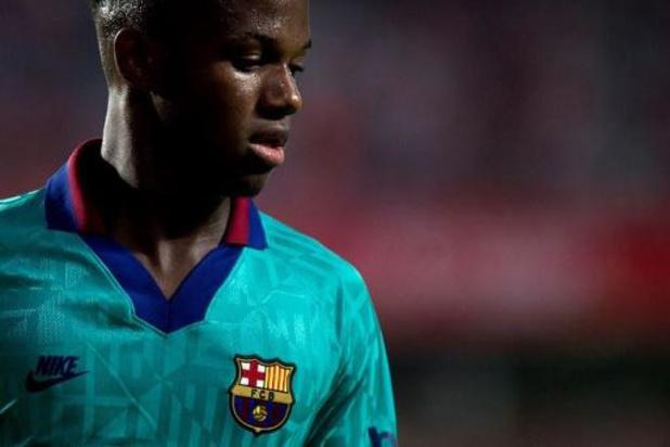 Ansu Fati, révélation du FC Barcelone, sélectionné avec les U21 espagnols