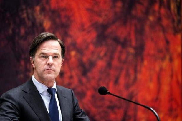 Formatie Nederland - Rutte wil ondanks vertrouwenscrisis door als premier
