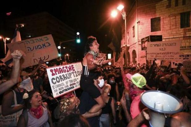 Israël: 12 manifestants anti-Netanyahu arrêtés