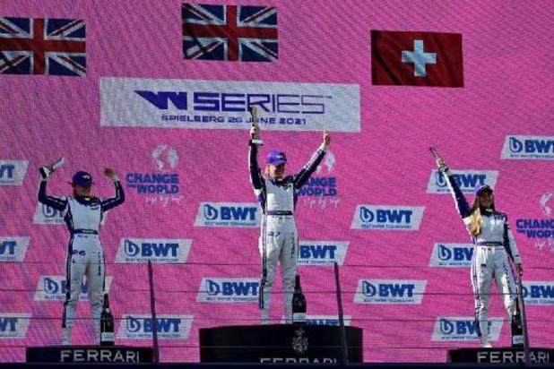 W Series - Alice Powell remporte chez elle le Grand Prix de Grande-Bretagne