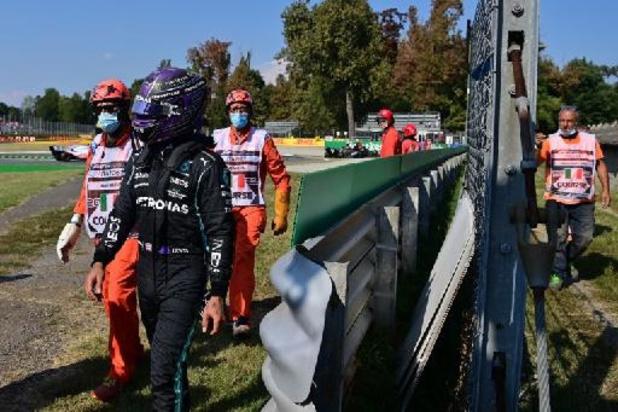 """Verstappen na crash met Hamilton: """"Als er één niet wil meewerken, houdt het op"""""""