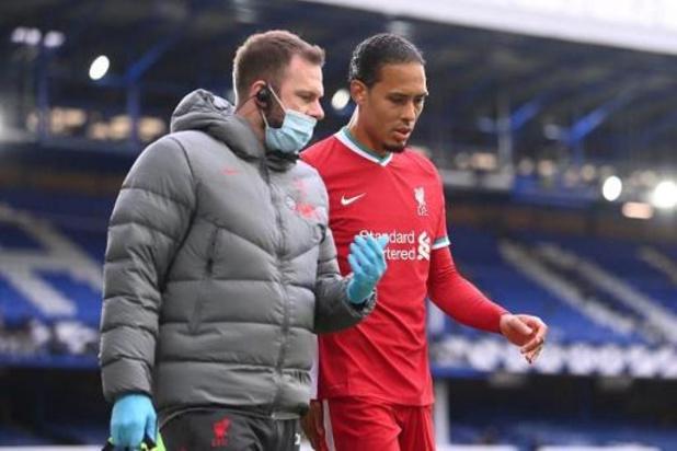 Virgil Van Dijk (Liverpool) continue sa rééducation, Diogo Jota de retour