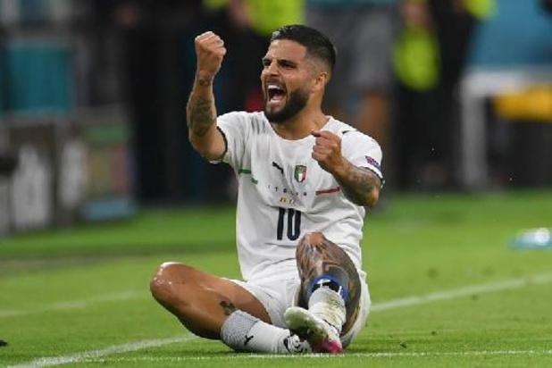 EK 2020 - Doelpuntenmaker Insigne Man van de Match na zege Italië tegen België
