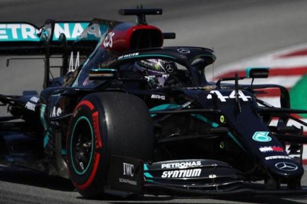 Mercedes domine encore la troisième et dernière séance d'essais libres