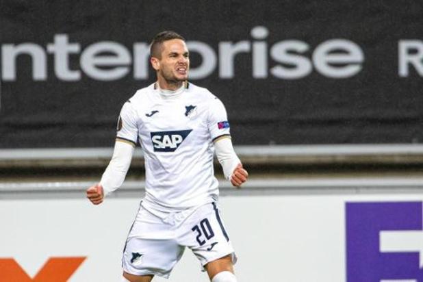 AA Gent 1-4 onderuit tegen TSG Hoffenheim
