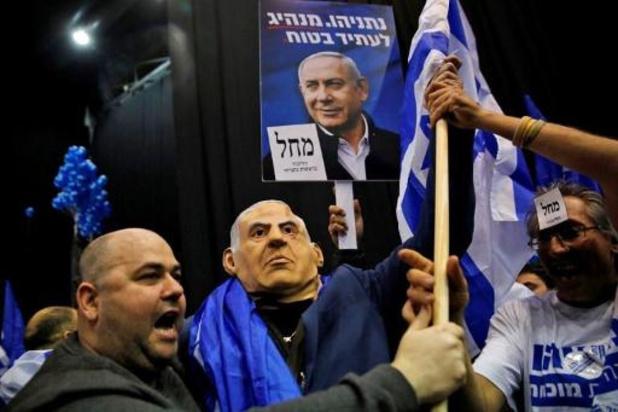 Israëlische parlementsverkiezingen - Benjamin Netanyahu eist overwinning op