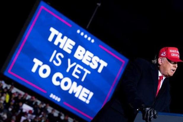 """Trump assure avoir """"une très solide chance de gagner"""" la présidentielle"""
