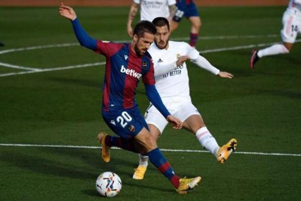 Belgen in het buitenland - Real Madrid verliest nu ook in eigen huis van Levante