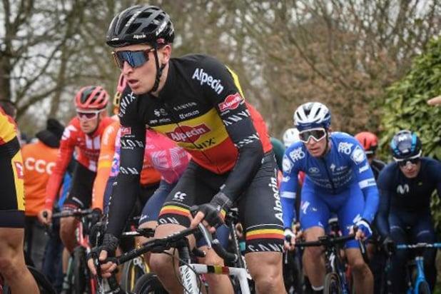 La course cycliste de Wortegem-Petegem arrêtée après le malaise d'un des coureurs