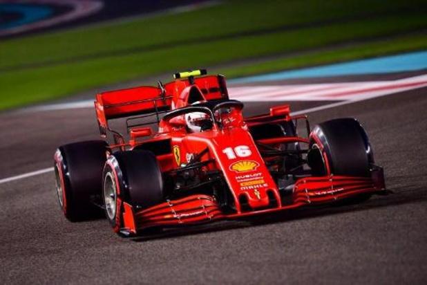 Ferrari n'établira pas de hiérarchie entre Leclerc et Sainz en début de saison