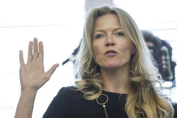 Présidence du MR: l'ex-candidate Clémentine Barzin soutient aussi Georges-Louis Bouchez