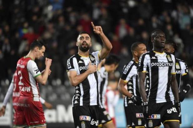 Jupiler Pro League - Rezaei knalt Charleroi naar belangrijke driepunter tegen Zulte Waregem
