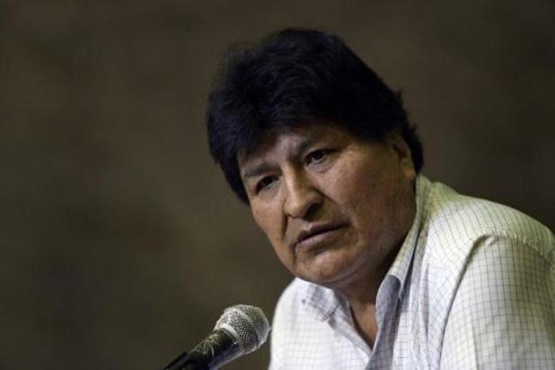 Boliviaanse rechtbank heft aanhoudingsbevel tegen Morales op