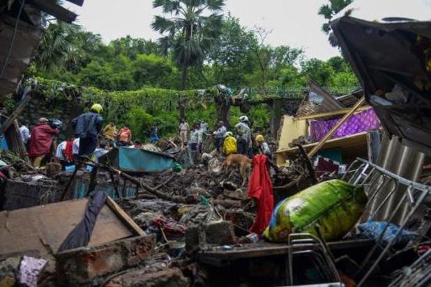 Hevige regenval maakt 26 slachtoffers in Mumbai