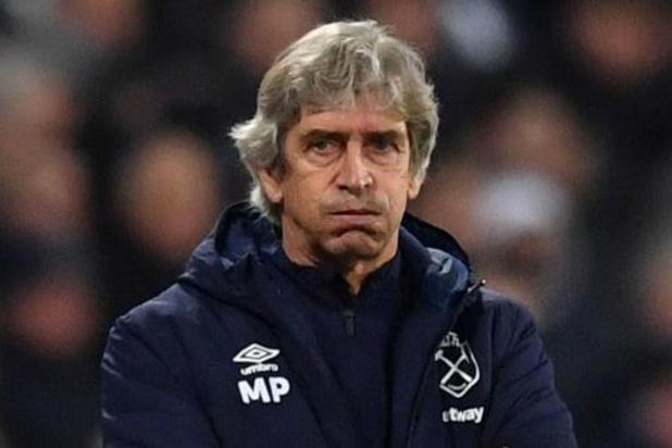 Premier League - West Ham se sépare de Manuel Pellegrini