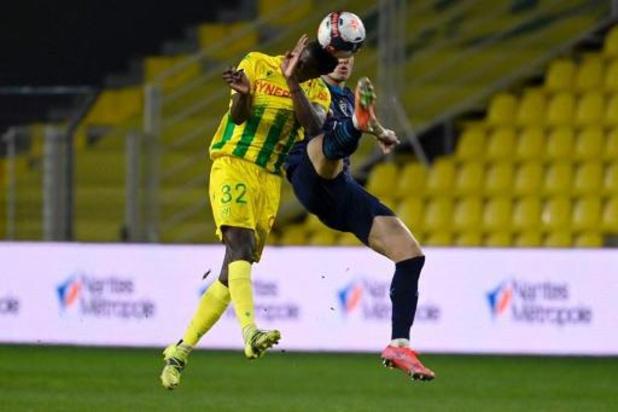 Les Belges à l'étranger - Nantes et Emond empochent un point contre Marseille
