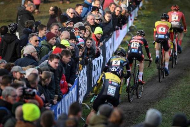 WB-manches veldrijden in Villars en Hoogerheide gaan ook niet door
