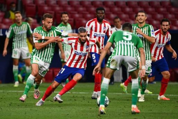 Les Belges à l'étranger - Carrasco passeur pour la victoire de l'Atlético, qualifié pour la prochaine C1