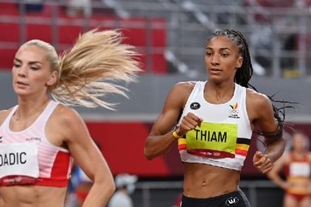 Nafissatou Thiam, en or, conserve son titre olympique à l'heptathlon, Noor Vidts 4e