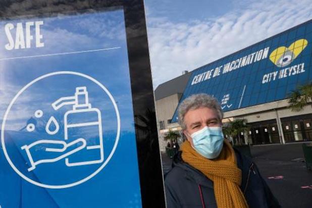 Tienduizenden Vlamingen en Walen zijn in Brussels Gewest gevaccineerd