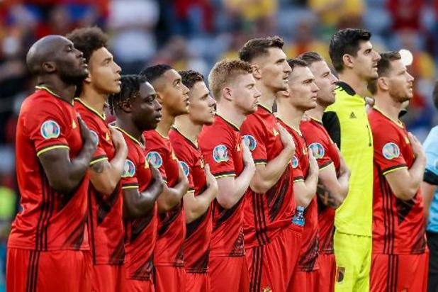 Éliminée en quarts de l'Euro, la Belgique devrait garder la tête du classement FIFA jeudi