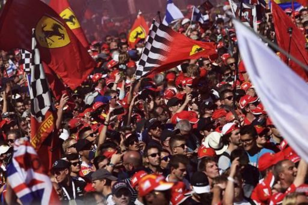 F1 - Le Grand Prix d'Italie à Monza sans public
