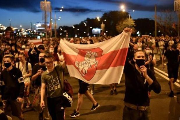 Presidentsverkiezingen Wit-Rusland - Tichanovskaja roept Wit-Russische politie op om geen geweld te gebruiken